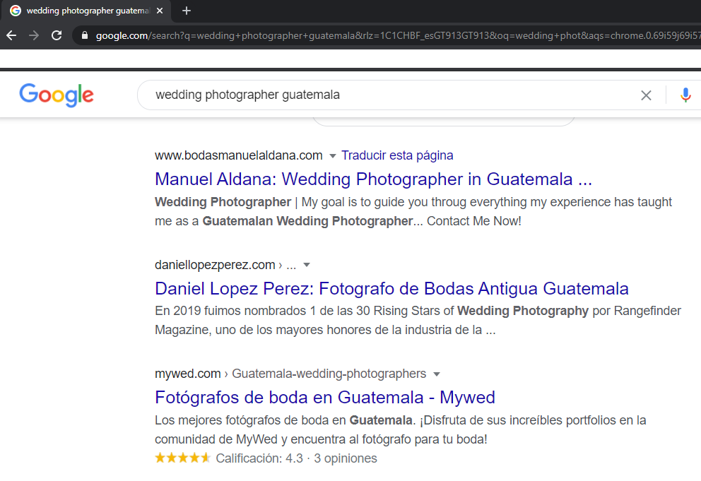 Página Web Posicionada con GeneratePress